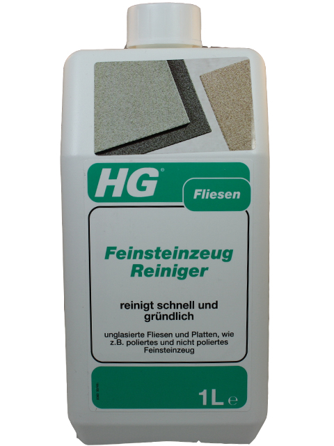 hg hagesan feinsteinzeug reiniger fliesen 1 liter feinsteinzeugreiniger ebay. Black Bedroom Furniture Sets. Home Design Ideas