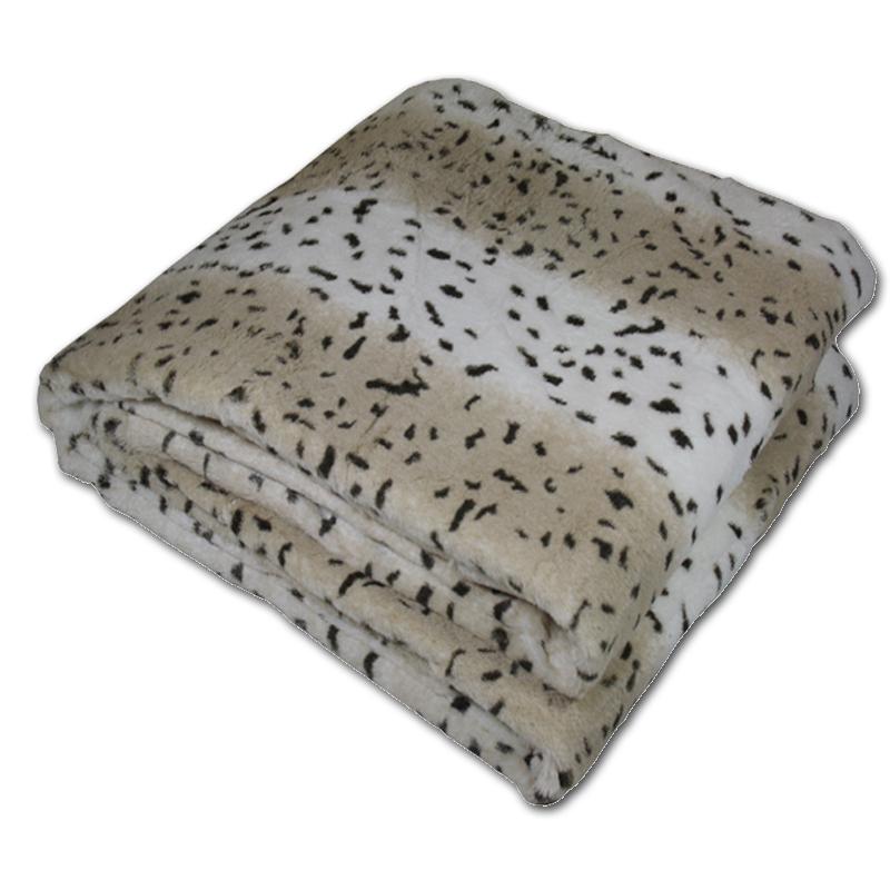 microfibre couverture couverture animal plaid canap par o. Black Bedroom Furniture Sets. Home Design Ideas