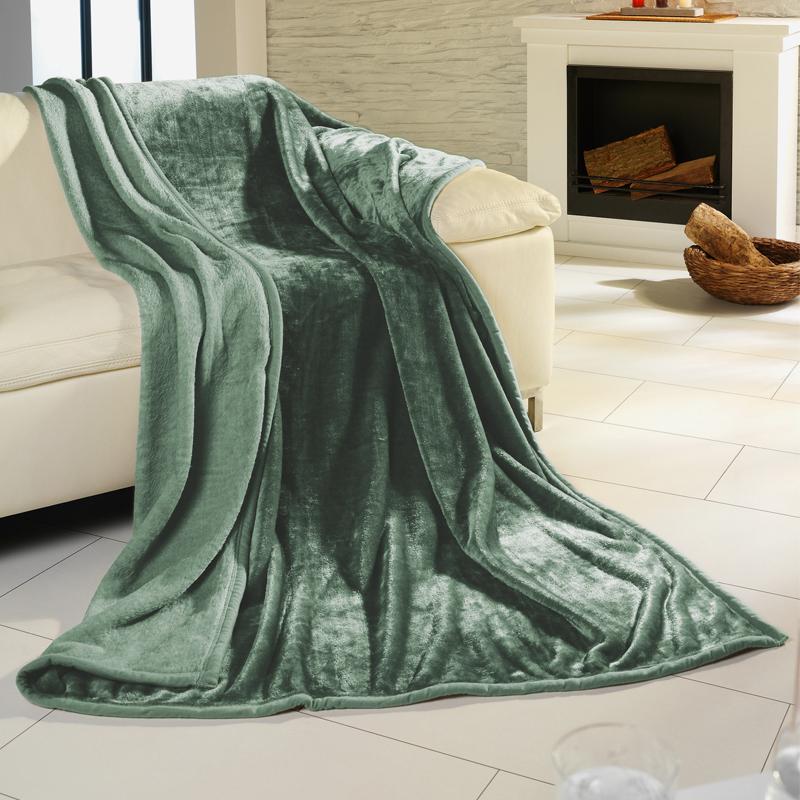 microfaser wohndecke xl xxl kuscheldecke woll decke sofa. Black Bedroom Furniture Sets. Home Design Ideas