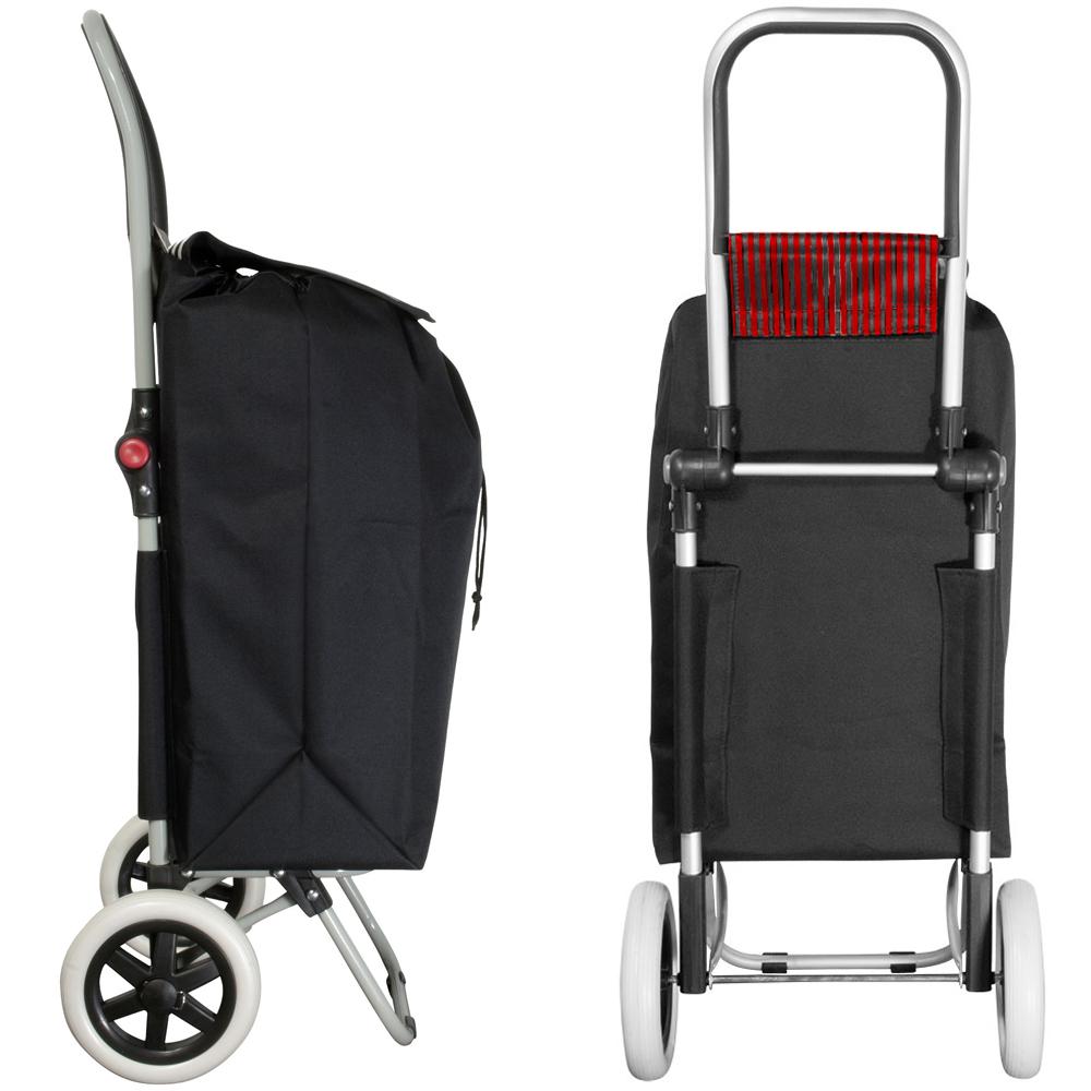 einkaufstrolley klappbarer einkaufsroller trolley roller. Black Bedroom Furniture Sets. Home Design Ideas