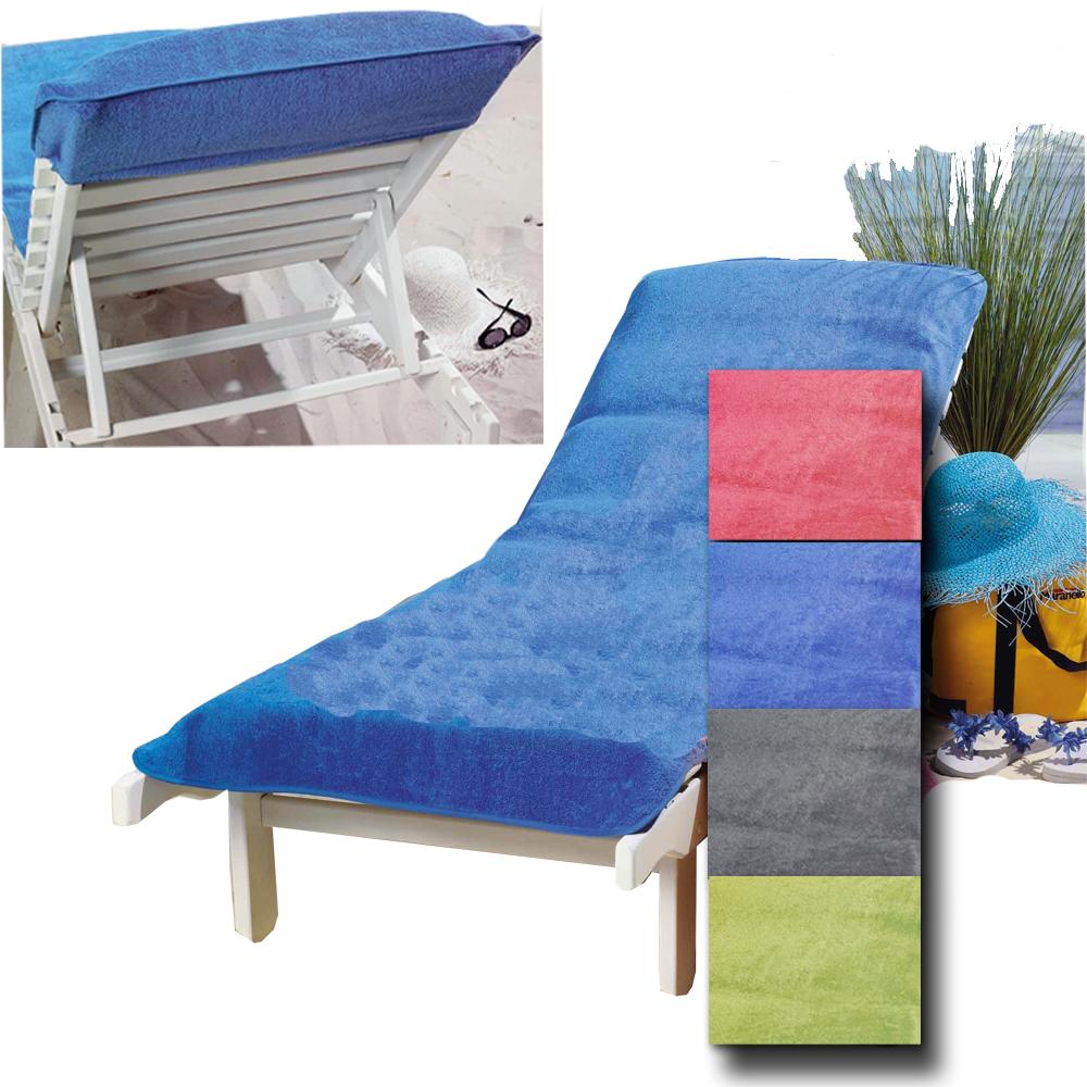 frottee schonbezug f r gartenliege bezug strandliege liegenbezug auflage liege ebay. Black Bedroom Furniture Sets. Home Design Ideas