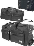 XXL Reisetasche Jumbo Trolley Sport Tasche Koffer 90L!