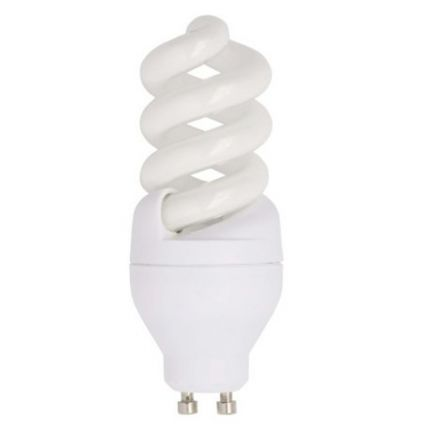 brilliant energiesparleuchtmittel mini fullspirale gu10 9w 405lm warmwei ebay. Black Bedroom Furniture Sets. Home Design Ideas