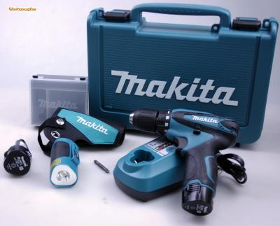 makita df 330 dwlx akku schrauber 1 3 ah 10 8v li ion ebay. Black Bedroom Furniture Sets. Home Design Ideas