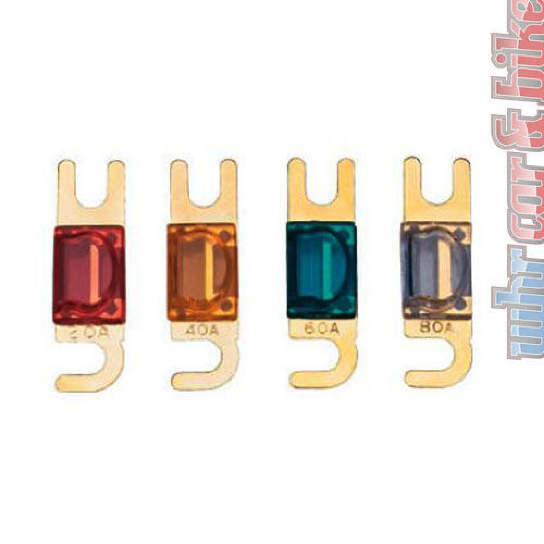 Sinuslive SH-100 Sicherungshalter vergoldete Kontakte  bis 25mm² Kabel TOP