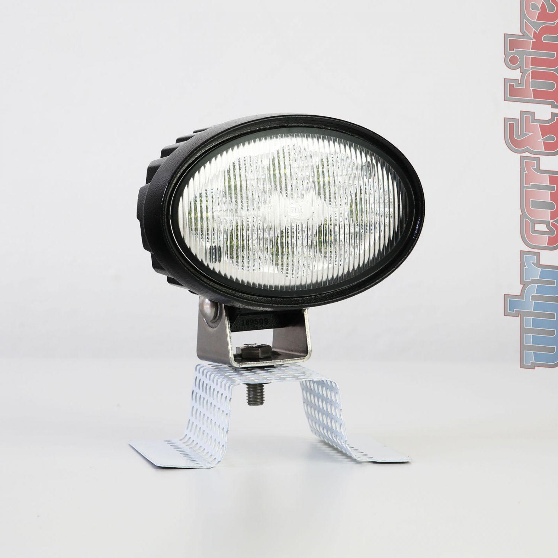 hella 12v 24v led arbeitsscheinwerfer ov 100 oval. Black Bedroom Furniture Sets. Home Design Ideas
