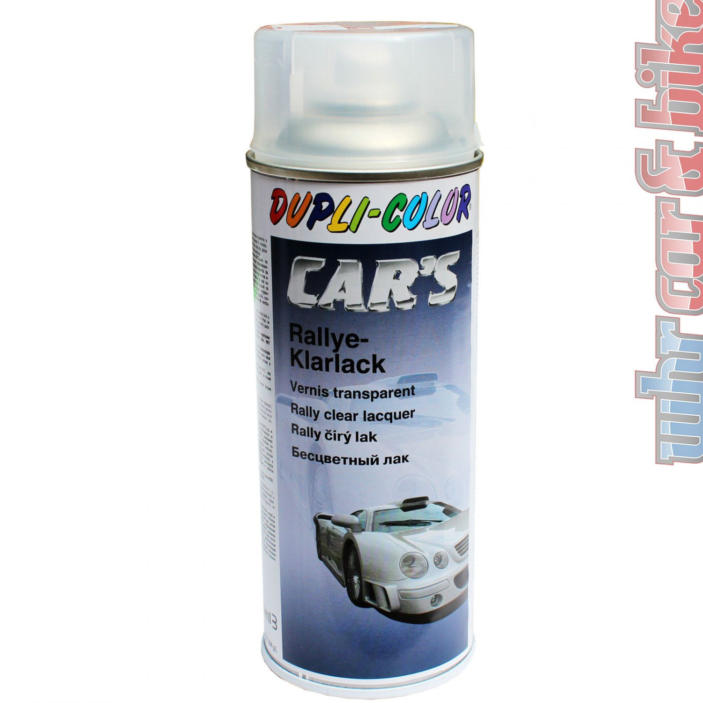 dupli color rallye klarlack 400ml farblos car 39 s acryl lack spray ebay. Black Bedroom Furniture Sets. Home Design Ideas