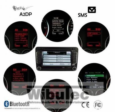 bluetooth freisprecheinrichtung f r vw polo 6r radio. Black Bedroom Furniture Sets. Home Design Ideas