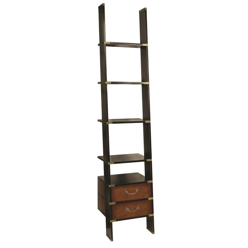 b cher leiter regal bibliotheksleiter holz authentic models am ebay. Black Bedroom Furniture Sets. Home Design Ideas