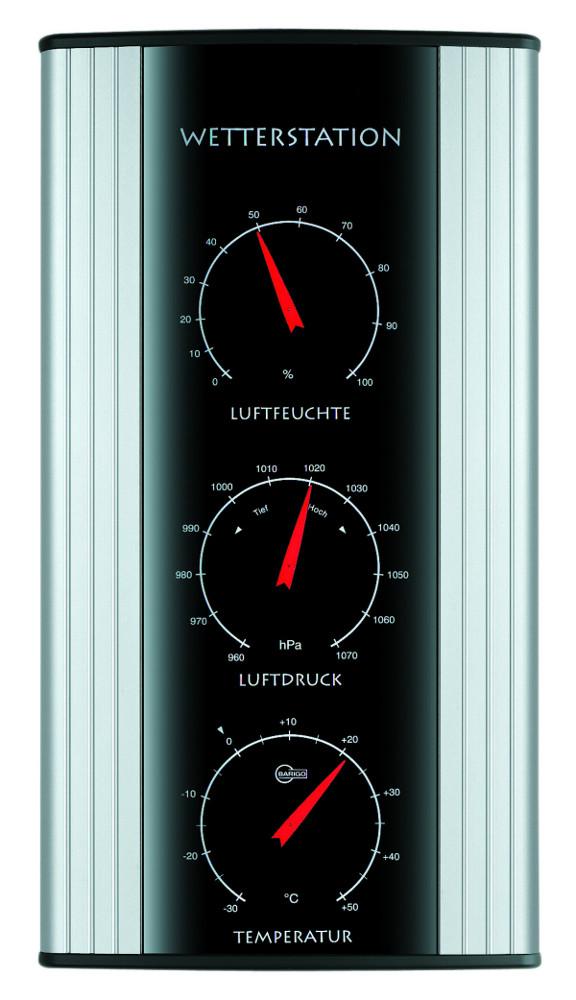 Barigo Au 223 En Wetterstation 520 Thermometer Hygrometer Barometer Ebay
