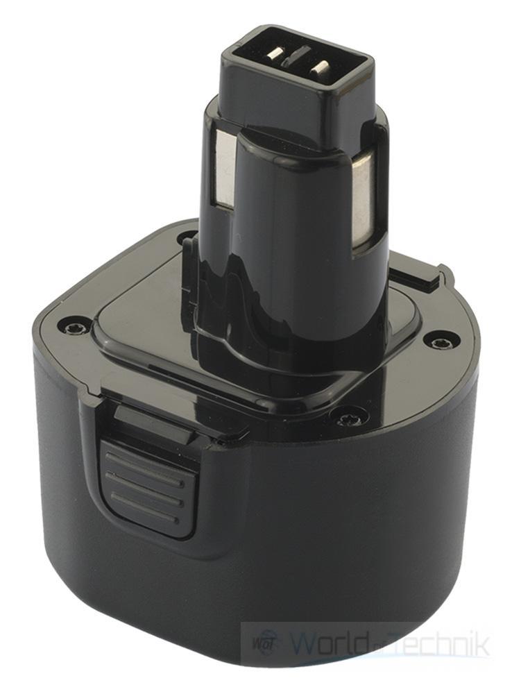 akku accu batterie battery f r dewalt ger te dw serie black decker 9 6 v ebay. Black Bedroom Furniture Sets. Home Design Ideas
