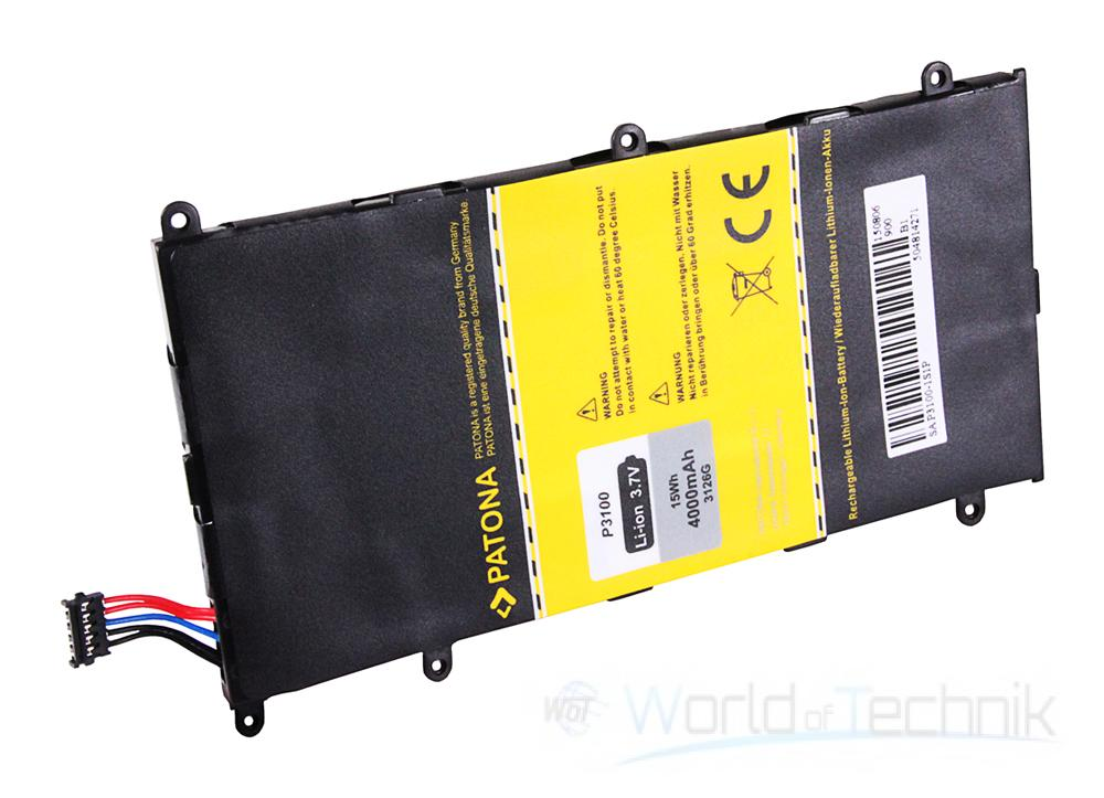 patona battery for samsung galaxy tab 2 7 0 p3100 p3110 ebay. Black Bedroom Furniture Sets. Home Design Ideas